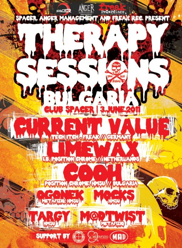 Therapy Sessions - Bulgaria, club Spacer | 3.June.2011