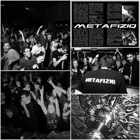 METAFIZIQ LABEL NIGHT @ club CHERVILO