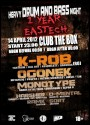1 YEAR EASTECH CREW: With Special Guest: K-ROB (RO) @ new THE BOX club - Sofia