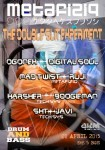 METAFIZIQ presents: THE DOUBLE SLIT EXPERIMENT :: DRUM AND BASS HARD STYLE PARTY