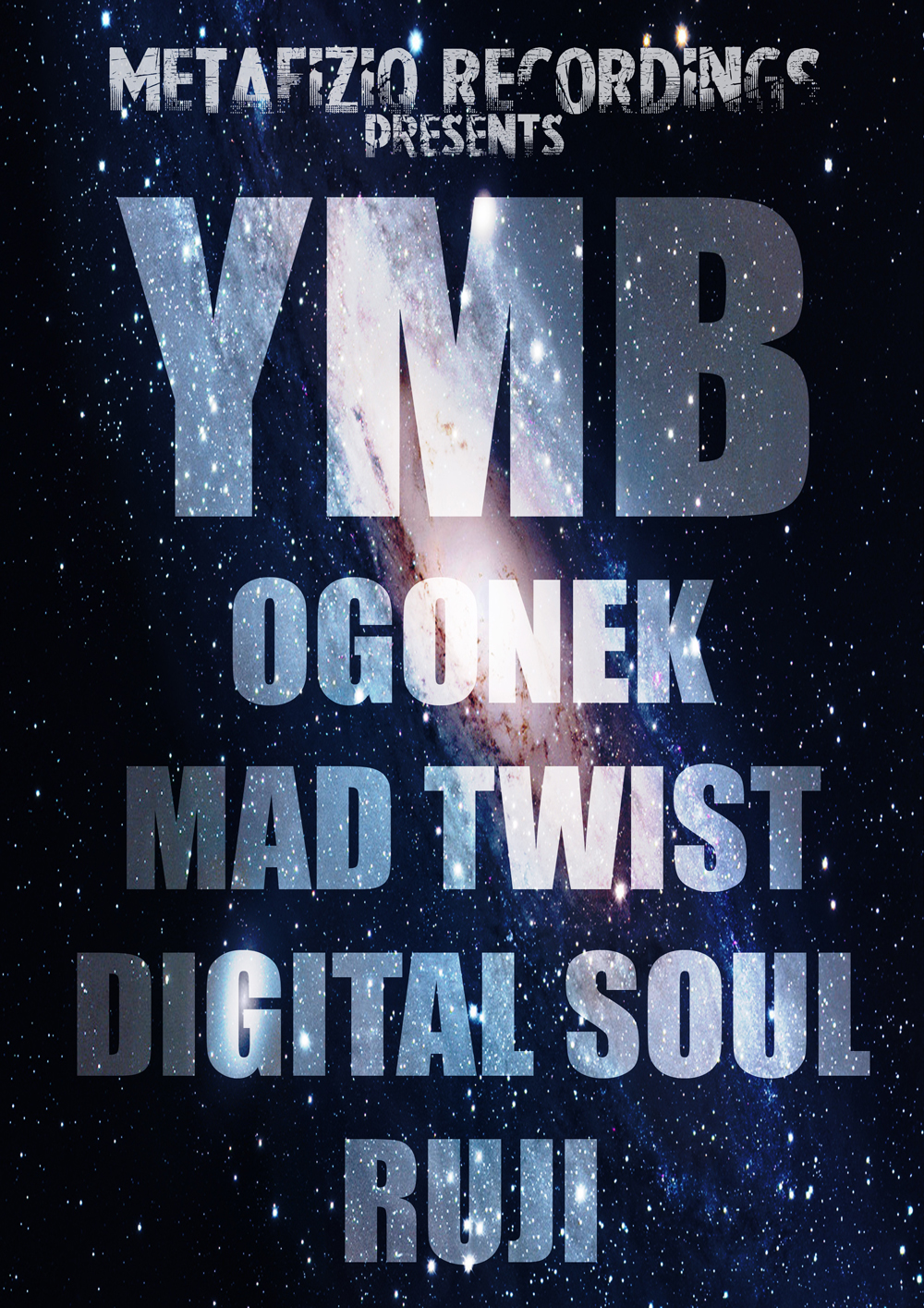 METAFIZIQ RECORDINGS presents: YMB (Metafiziq, Yellow Stripe) /NL/